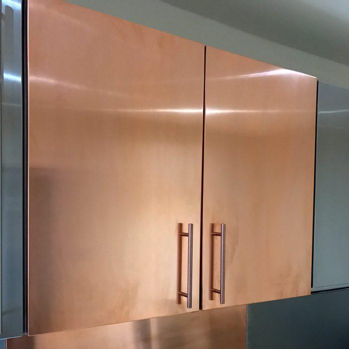 Copper Door Blanks 715mm high x 597mm wide x 19.5mm