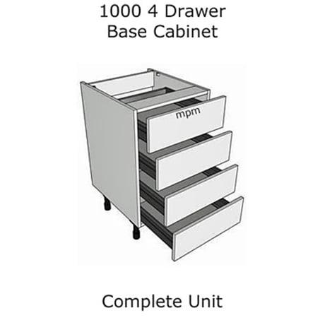 Hybrid 1000mm wide 4 Drawer Base Units