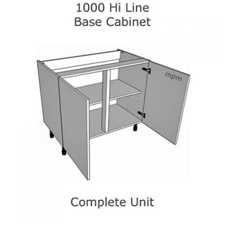 1000mm wide Hi Line Base Units
