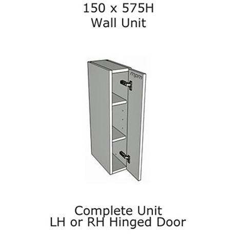 Hybrid 150mm wide x 575mm high Wall Units