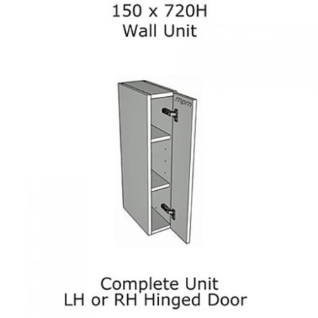 150mm wide x 720mm high Wall Units