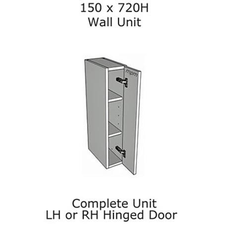 Hybrid 150mm wide x 720mm high Wall Units