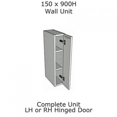 150mm wide x 900mm high Wall Units