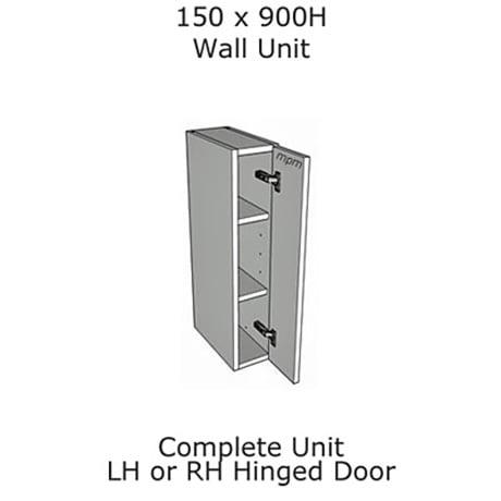 Hybrid 150mm wide x 900mm high Wall Units