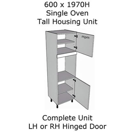Hybrid 600mm wide x 1970mm high Single Oven Tall Housing Units