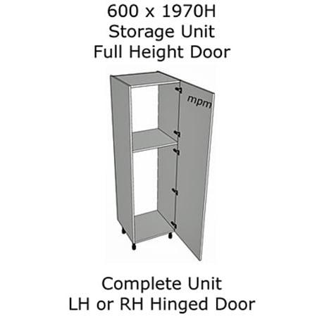 600mm wide x 1970mm high Single Door Storage Units