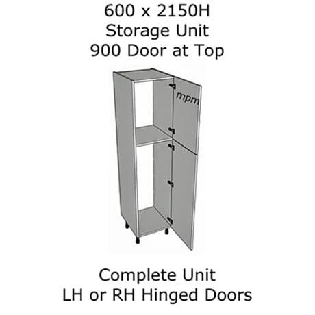 Hybrid 600mm wide x 2150mm high 900 Top Door Storage Units