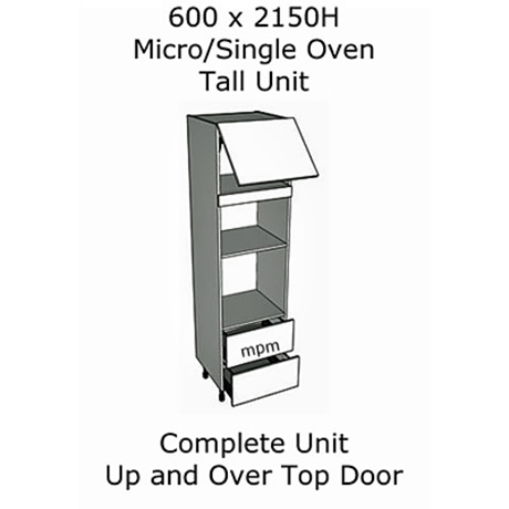 600mm wide x 2150mm high Micro-Single Oven Tall Housing Units