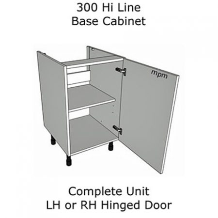 Hybrid 300mm wide Hi Line Base Units