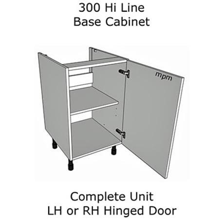 300mm wide Hi Line Base Units