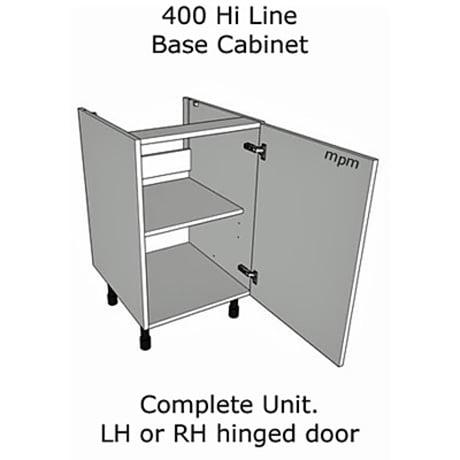 Hybrid 400mm wide Hi Line Base Units
