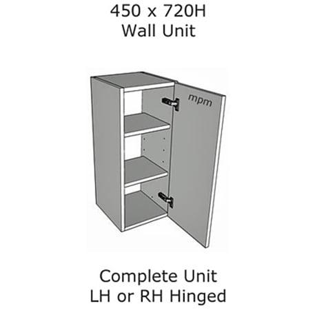 Hybrid 450mm wide x 720mm high Wall Units