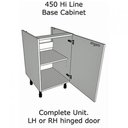 450mm wide Hi Line Base Units