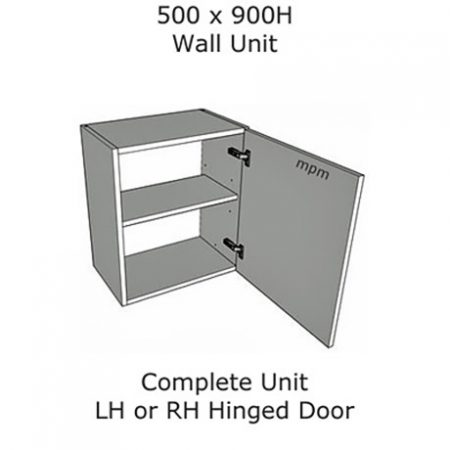Hybrid 500mm wide x 900mm high Wall Units
