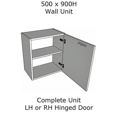 500mm wide x 900mm high Wall Units