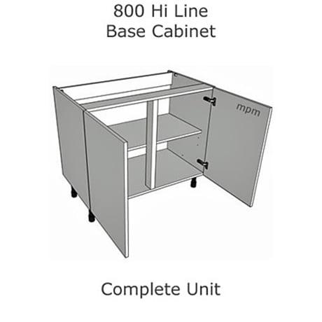 Hybrid 800mm wide Hi Line Base Units