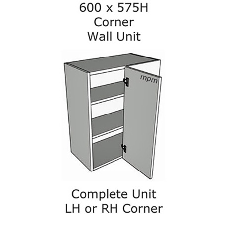 600mm wide x 575mm high Corner Wall Units