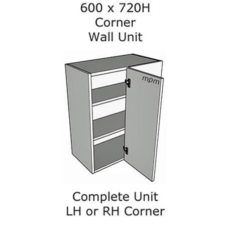 600mm wide x 720mm high Corner Wall Units