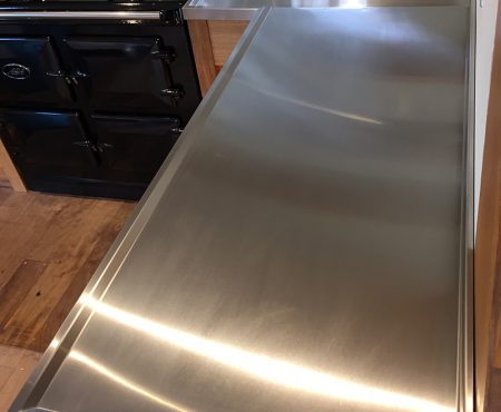 Made to Measure Stainless Steel sink and Worktop
