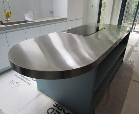 Bespoke Stainless Steel Kitchen Island