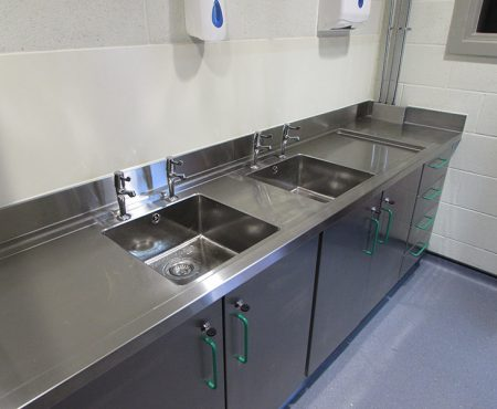 Commercial Stainless Steel Kitchens