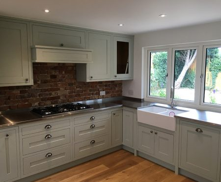 Luxury Stainless Steel Kitchen Worktops