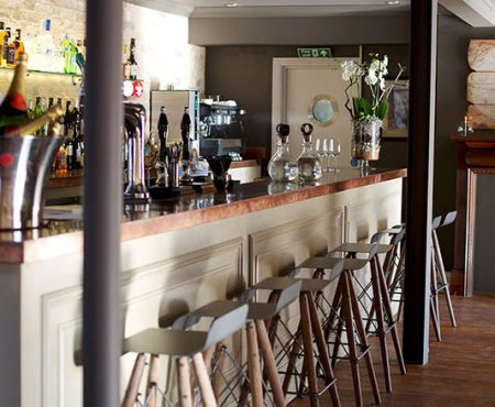 Copper Kitchen Fitted Bar Worktops