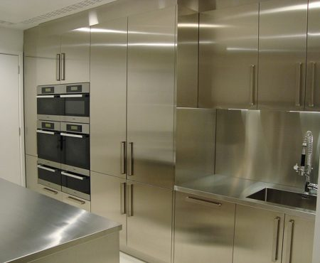 Complete Stainless Steel Kitchen