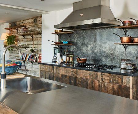 Luxury Bespoke Stainless Steel Kitchen