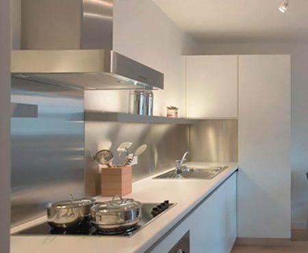 Luxury Stainless steel bespoke kitchen