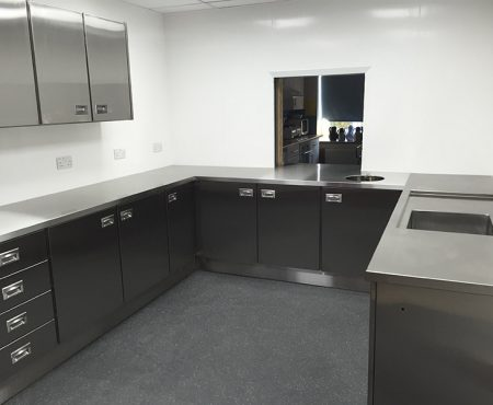 Made to Measure Stainless Steel Worktops