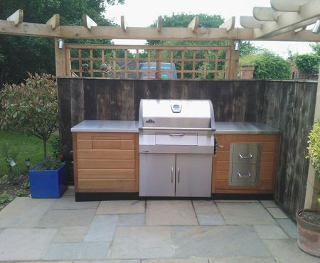 Stainless Steel Garden Kitchen