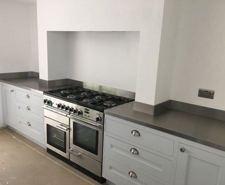 Made to Measure Stainless Steel Worktop