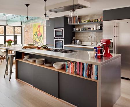 Bespoke Stainless Steel Kitchen Islands