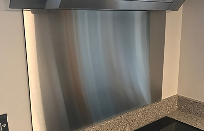 Stainless Steel Kitchen Splashbacks