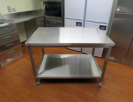 Fire Station Stainless Steel Kitchen
