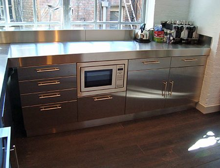 Made to measure Stainless Steel Kitchen