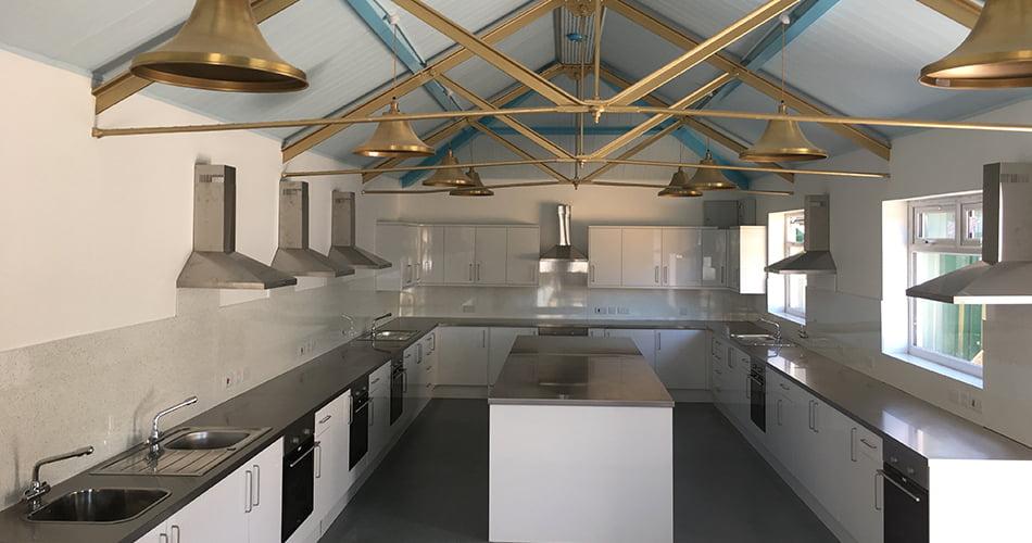 Education Bespoke Stainless Steel Kitchen Units