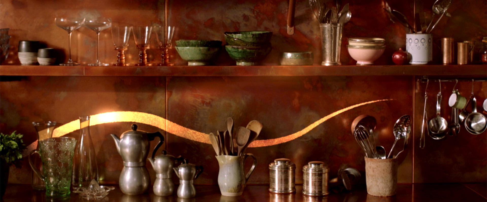 Bespoke Fully Fitted Copper Kitchen