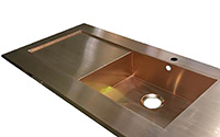 Sink with Drainer